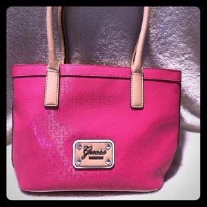Pink Guess Bag, New Condition.
